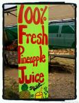 pineapple juice sign