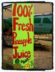 pineapple juice sign