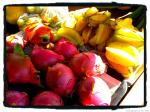 dragon fruit and star apple