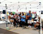 hawaiian band ala moana farmers market